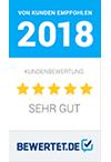 Bewertet Auszeichnung 2018