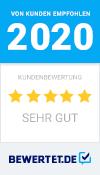 Bewertet Auszeichnung 2020