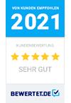 Bewertet Auszeichnung 2021
