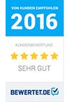 Bewertet Auszeichnung 2016