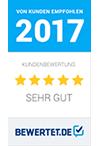 Bewertet Auszeichnung 2017