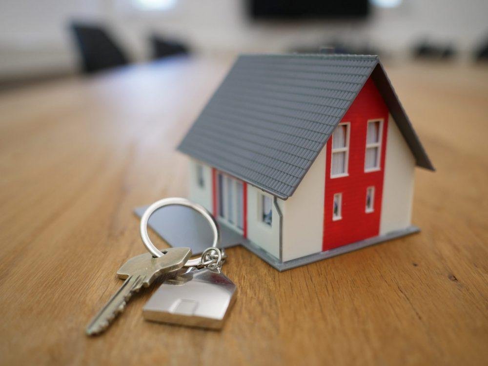 Haus mit Schlüssel